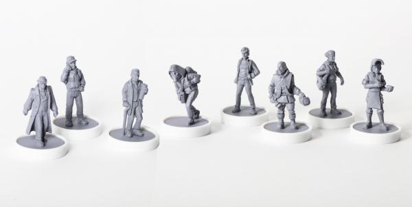 Viral Outbreak Miniatures: Alpha Team (Miniatures 08-15)