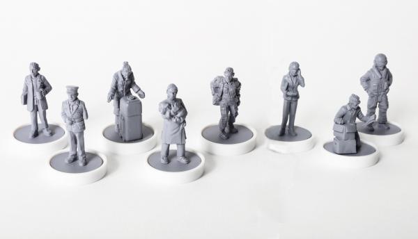 Viral Outbreak Miniatures: Beta Team (Miniatures 16-23)