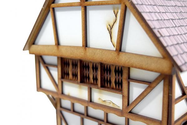 Miniature Terrain: Imperial House #1