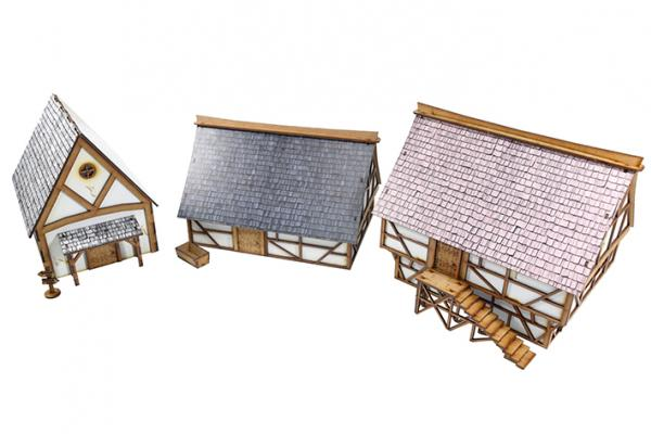 Miniature Terrain: Imperial Village