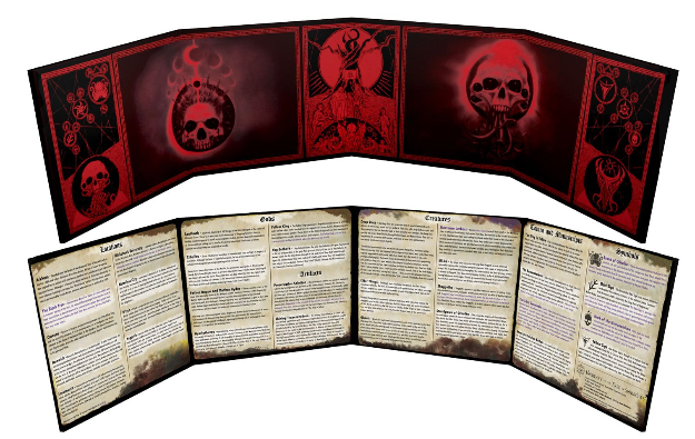 Unspeakable Tomes Doom Edition Lorecrafter GM Screen