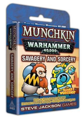 Munchkin: Warhammer 40,000 - Savagery and Sorcery