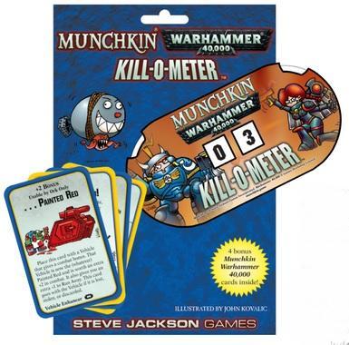 Munchkin: Warhammer 40,000 Kill-o-meter