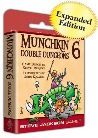Munchkin 6: Double Dungeons (Expanded Edition)