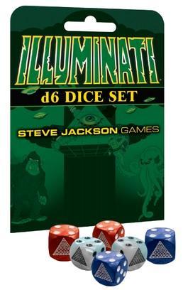 Illuminati Dice Set (6)
