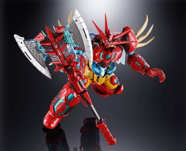 Bandai Hobby: GX-87 Getter Emperor ''True Getter Robo Manga Ver'', Bandai Soul of Chogokin