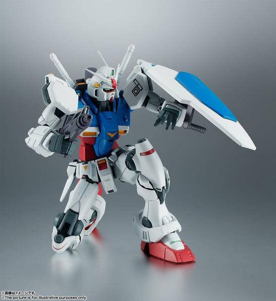 Bandai Hobby: RX-78GP01 GUNDAM GP01 Ver. A.N.I.M.E. ''Mobile Suit Gundam'', Bandai Robot Spirits