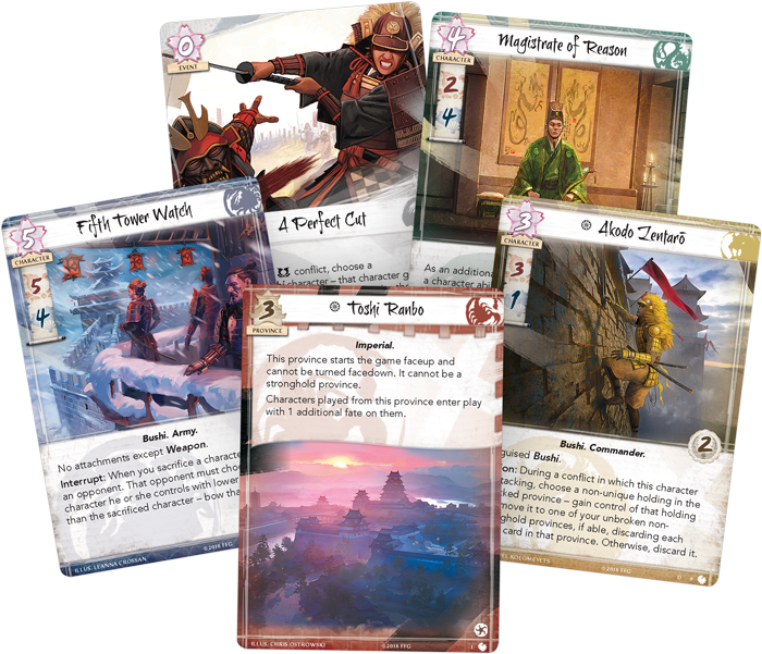 Legend of the Five Rings LCG: For the Empire