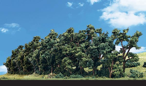 Woodland Scenics: Tree Kits -  Hedge Row (1/pkg - 1'' - 2 3/8'' x 7 3/4'')
