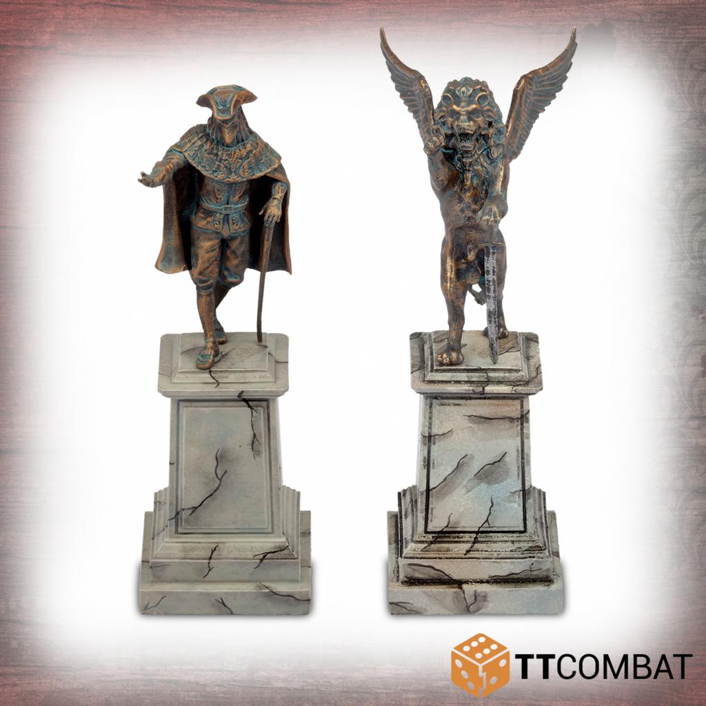 Carnevale: Venetian Statues