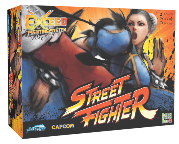 Exceed Fighting Sys: Street Fighter Chun-Li Box