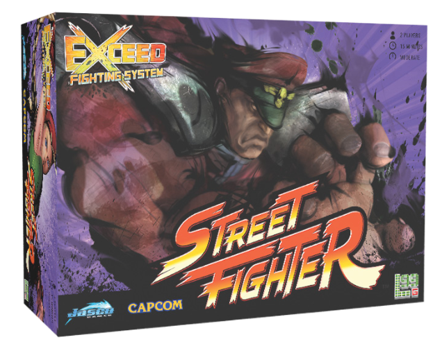 Exceed Fighting Sys: Street Fighter M. Bison Box