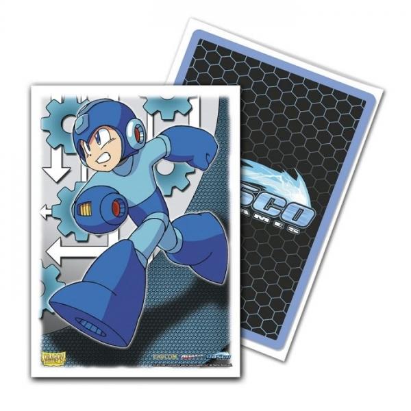 Dragon Shields: Classic Mega Man Standard Art Sleeves, Limited Edition (100)