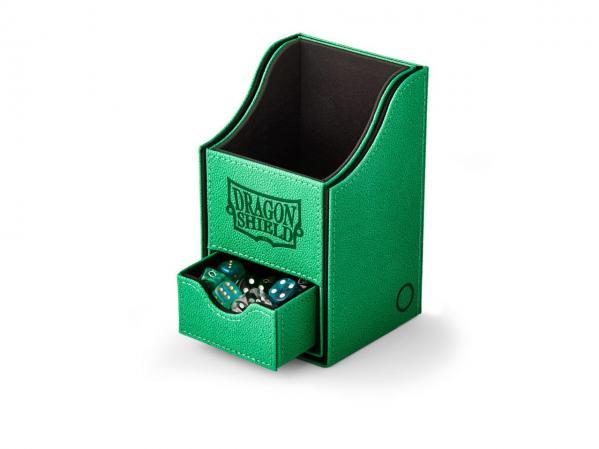 Dragon Shield: Deckbox Nest with Tray - Green/Black