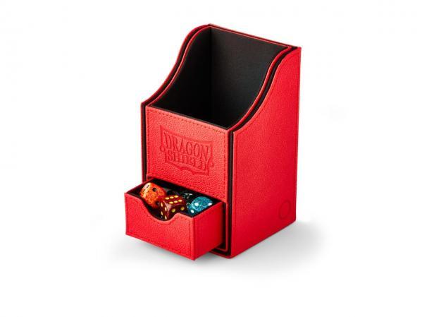 Dragon Shield: Deckbox Nest with Tray - Red/Black