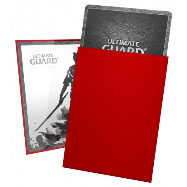 Card Sleeves: Katana Sleeves Standard Size - Red (100)