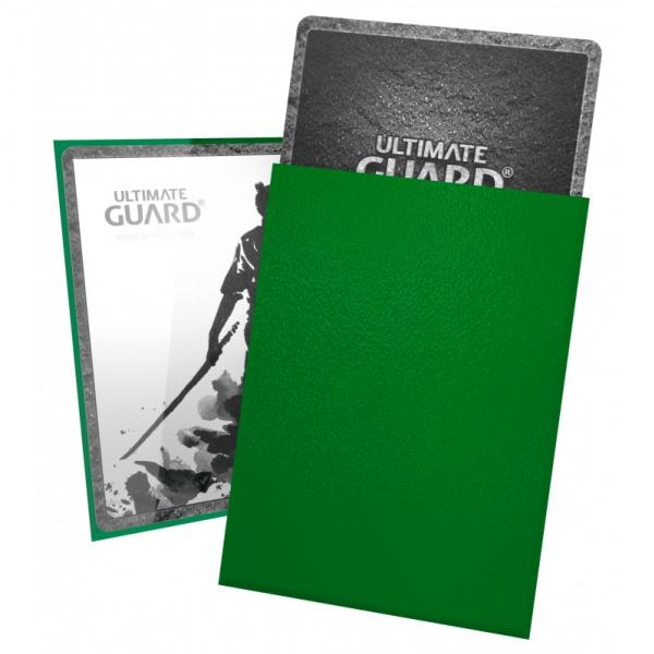 Card Sleeves: Katana Sleeves Standard Size - Green (100)