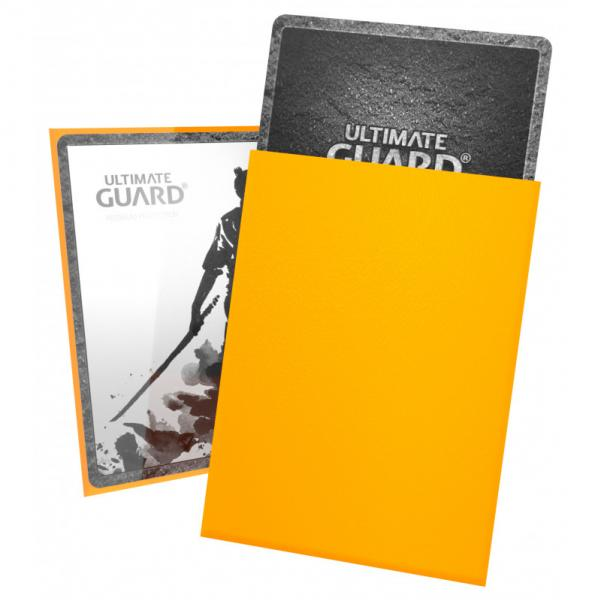Card Sleeves: Katana Sleeves Standard Size - Yellow (100)