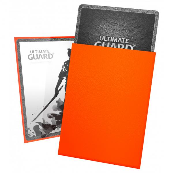 Card Sleeves: Katana Sleeves Standard Size - Orange (100)