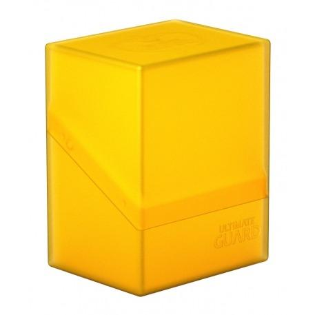 Deck Box: Boulder 80+ Standard Size - Amber (Yellow)
