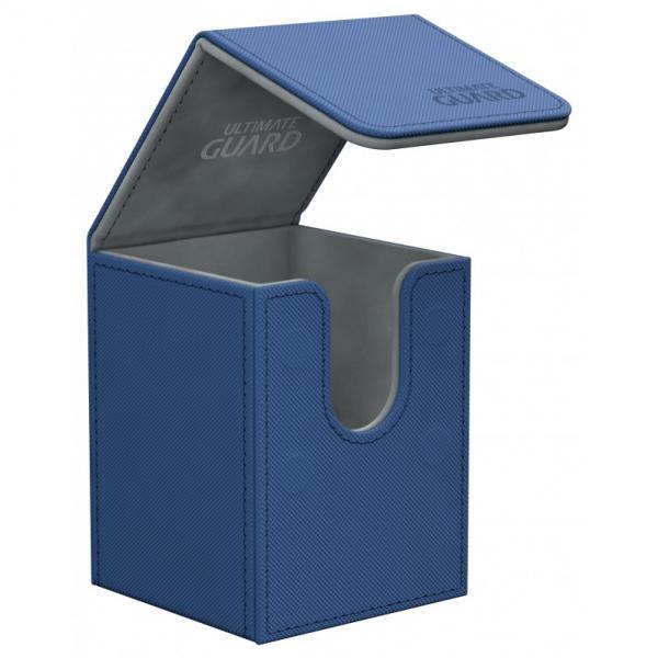 Deck Box: Flip 100+ Standard Size XenoSkin - Blue