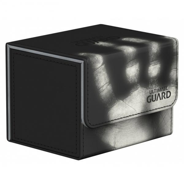 Deck Box: SideWinder 100+ Standard Size ChromiaSkin - Black