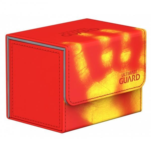 Deck Box: SideWinder 80+ Standard Size ChromiaSkin - Red