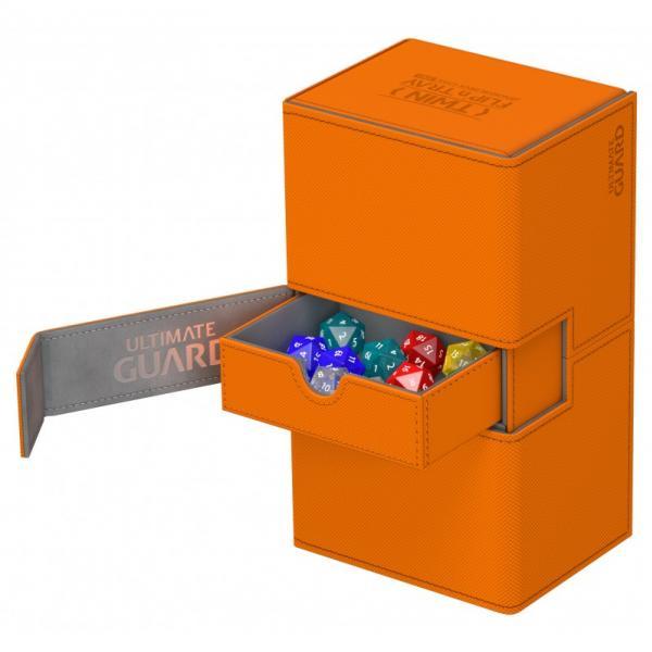 Deck Case: Twin Flip´n´Tray 200+ Standard Size XenoSkin - Orange