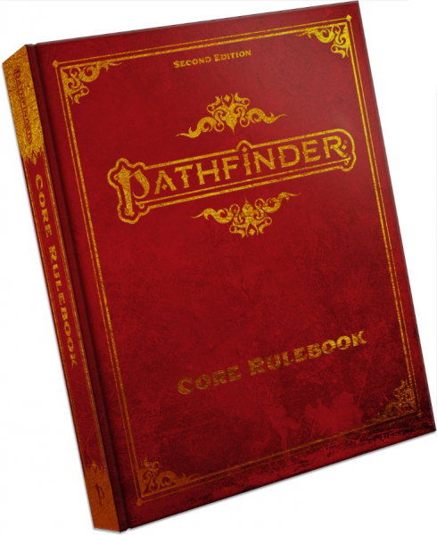 Pathfinder (P2): Pathfinder Core Rulebook Special Edition (HC)