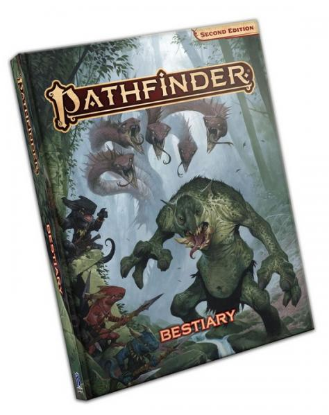 Pathfinder (P2): Pathfinder Bestiary (HC)
