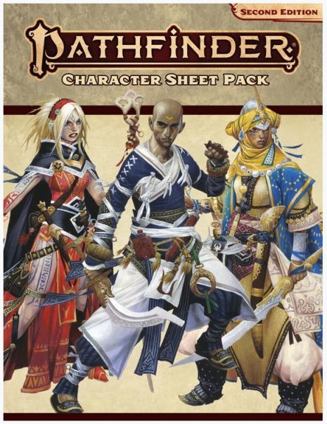 Pathfinder (P2): Pathfinder Character Sheet Pack
