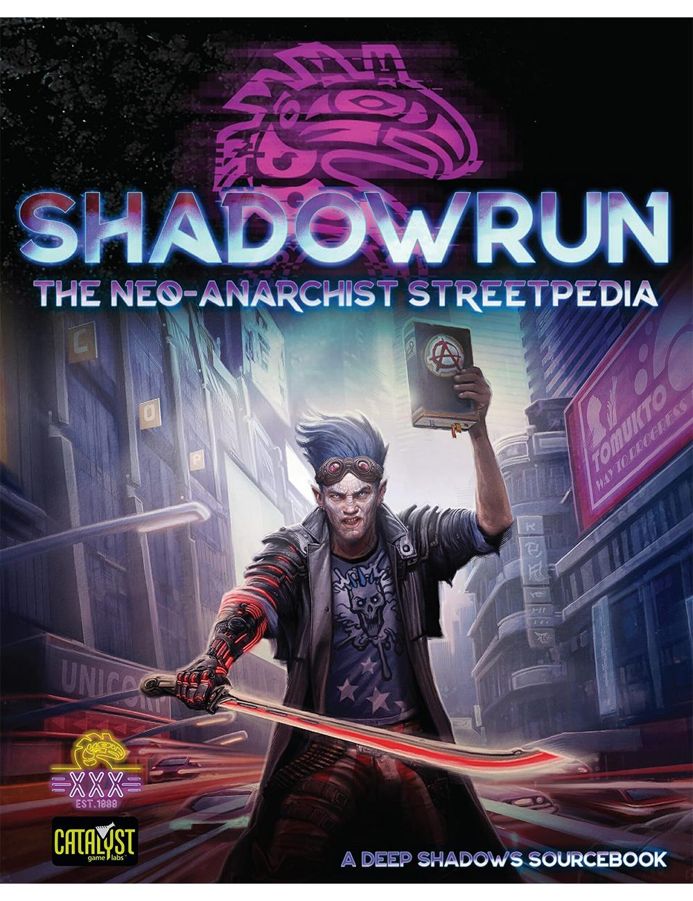 Shadowrun RPG: Neo-Anarchist's Streetpedia