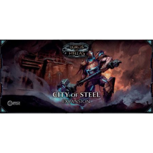 Lords of Hellas: City of Steel 6th Player Expansion
