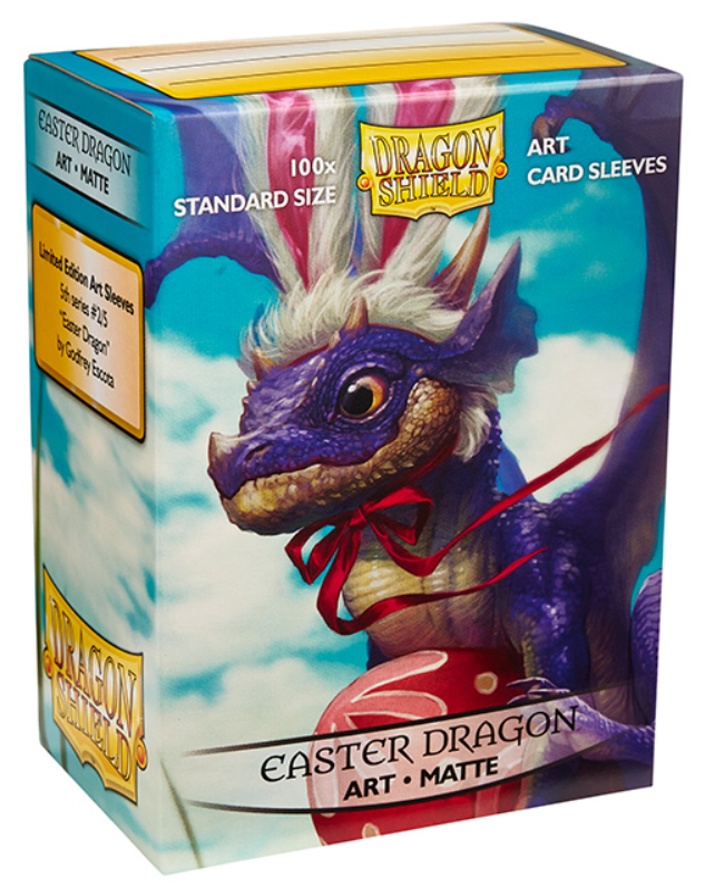 Dragon Shield Art Sleeves: Standard - Matte Art Easter Dragon (100 ct.)