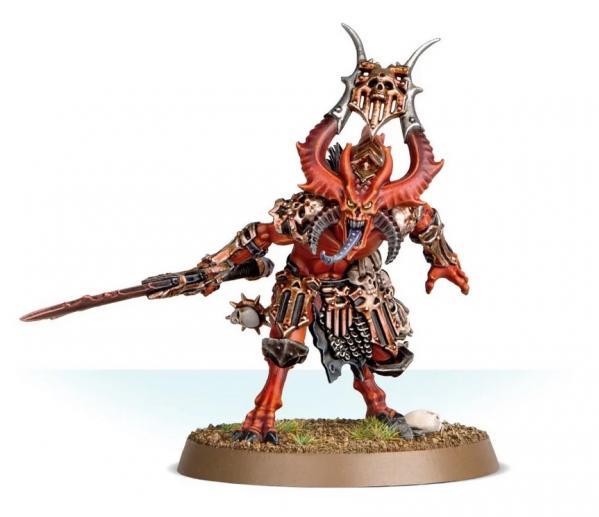 Age of Sigmar: Bloodmaster Herald of Khorne