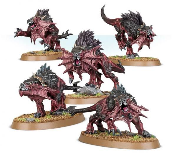 Age of Sigmar: Daemons of Khorne - Flesh Hounds