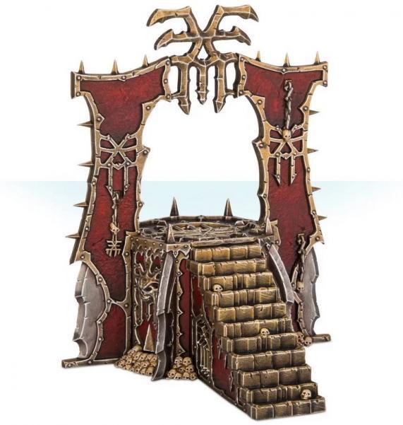 Age of Sigmar: Blades of Khorne Skull Altar