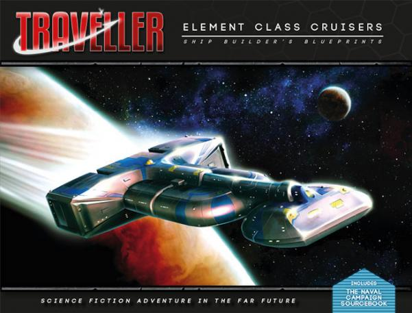 Traveller RPG: Elemental Class Cruisers - Shipbuilders Blueprints