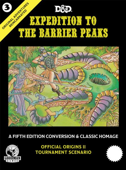 D&D 5th Edition: Original Adventures Reincarnated #3 Expedition to the Barrier Peaks (HC)