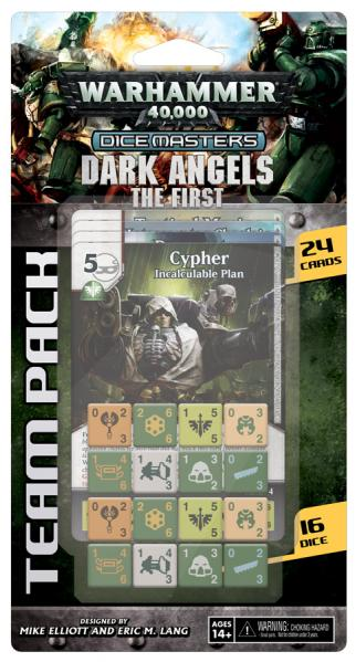 Warhammer 40,000 Dice Masters: Dark Angels Team Box