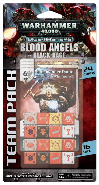 Warhammer 40,000 Dice Masters: Blood Angels Team Box