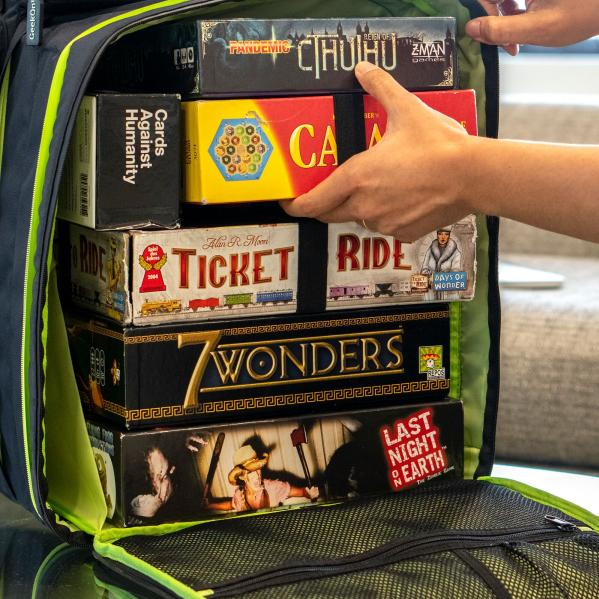 GeekOn! The Ultimate Boardgame Backpack (Blue)