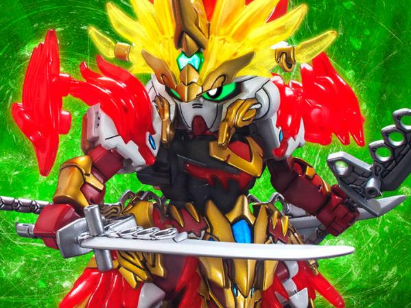 Bandai Hobby: #11 Sun Quan Gundam Astray ''SD Sangoku Soketsuden'', Bandai SD