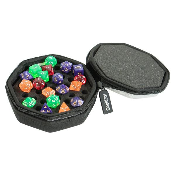 GeekOn! Dice Case & Tray - Grey