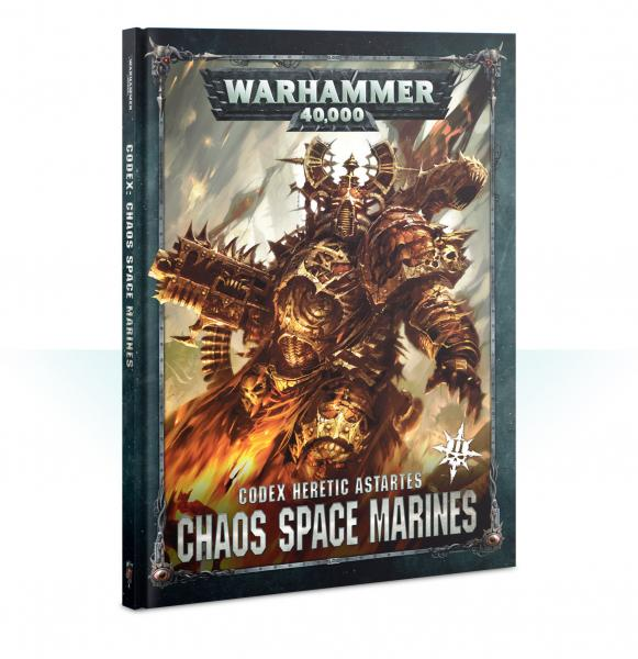 WH40K: Chaos Space Marines Codex (2019) (HC)