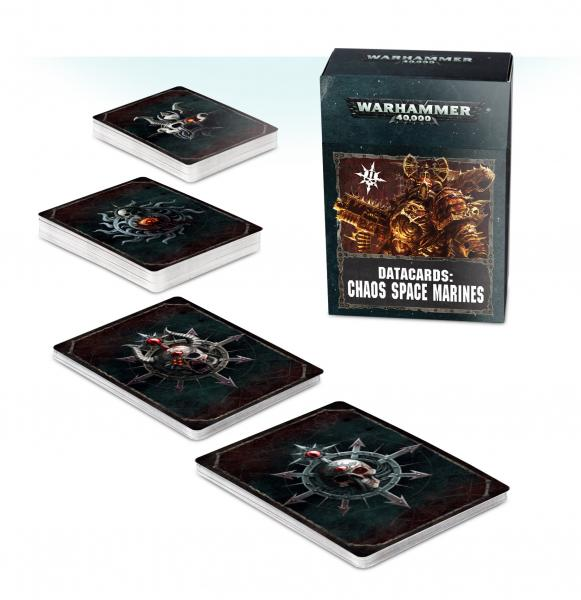 WH40K: Chaos Space Marines Datacards (2019)