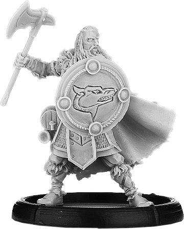 Darklands:   Shieldwall Eadric, Forthegn of Mierce on Foot (metal)