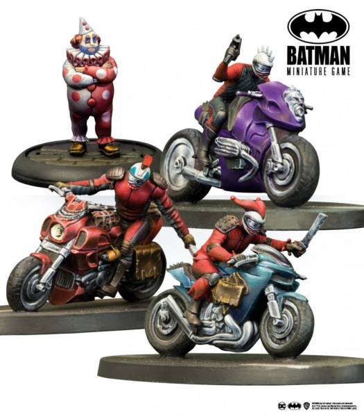 Batman Miniature Game: Archie & Joker's Bikers (Resin)