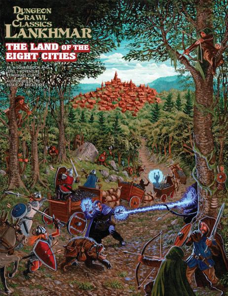 Dungeon Crawl Classics RPG: (Adventure) Lankhmar #8 - The Land of Eight Cities