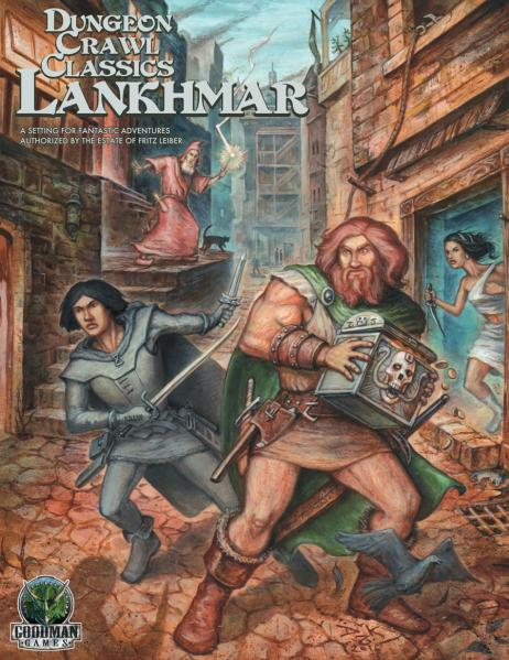 Dungeon Crawl Classics RPG: (Adventure) Lankhmar Boxed Set